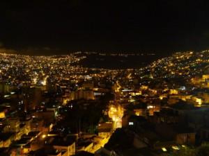 ラパス夜景